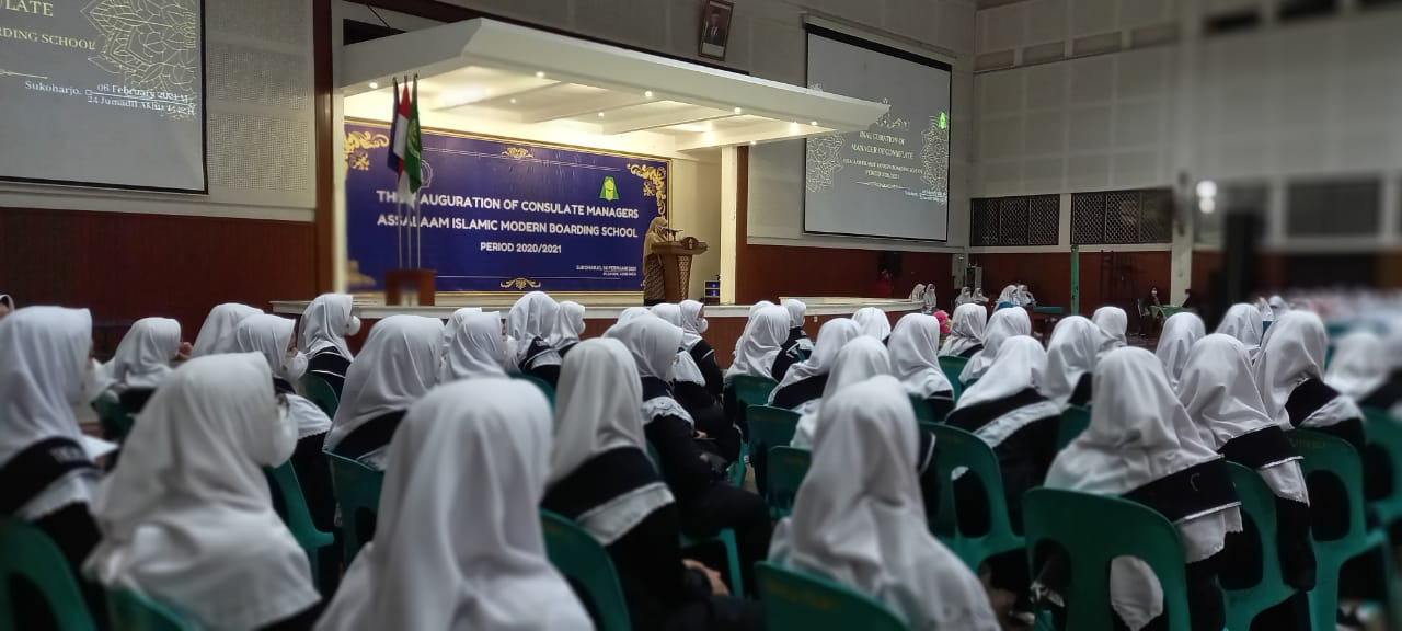 Pelantikan Pengurus Konsulat Putri Periode 2020/2021