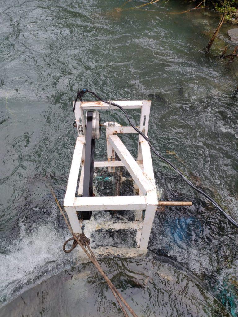 Potret Alat Diamond Barrier Hasil Riset Tim Karya Ilmiah Santri MA PPMI Assalaam
