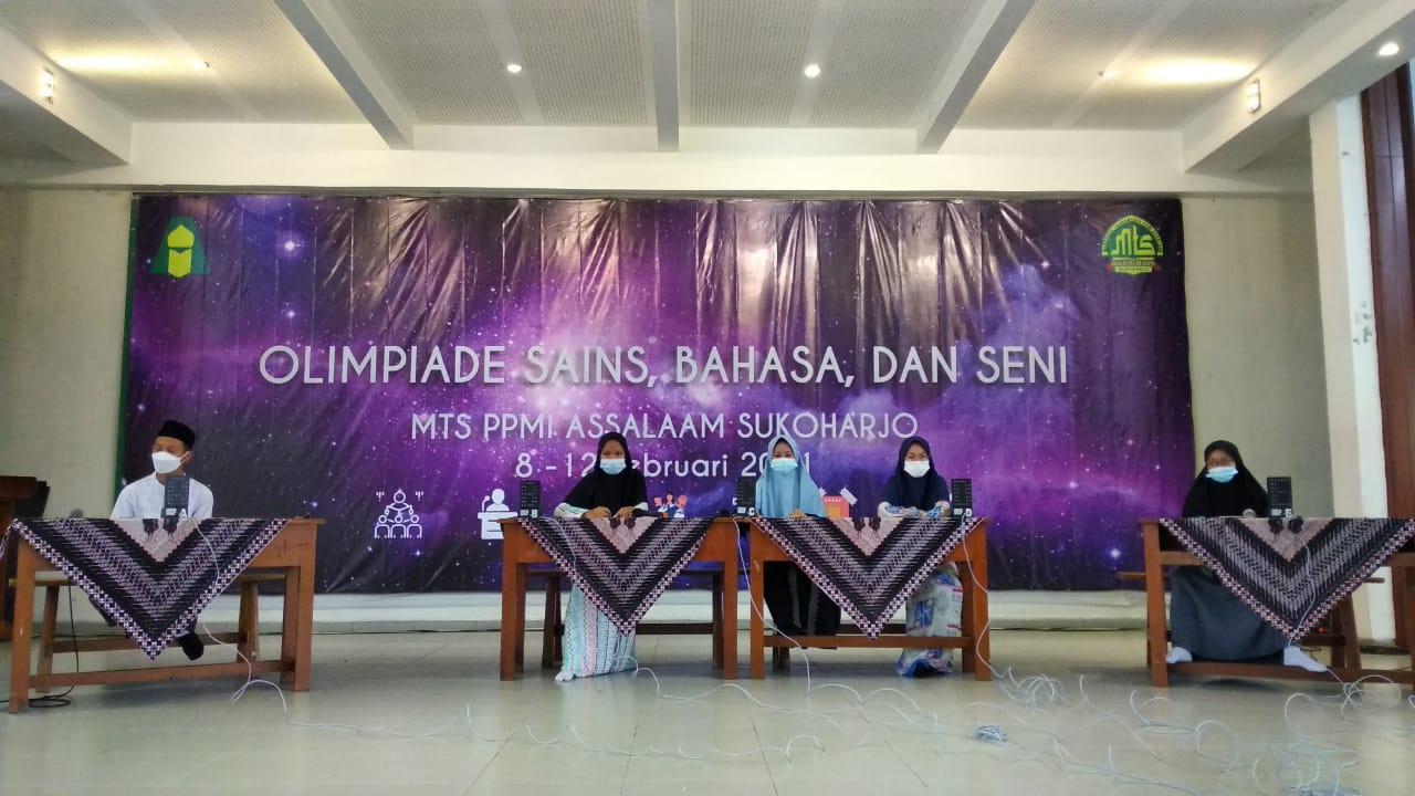 Pondok Pesantren Assalaam Umumkan Juara Olympiade Sains Bahasa Dan Seni Pondok Pesantren Modern Islam Assalaam Sukoharjo
