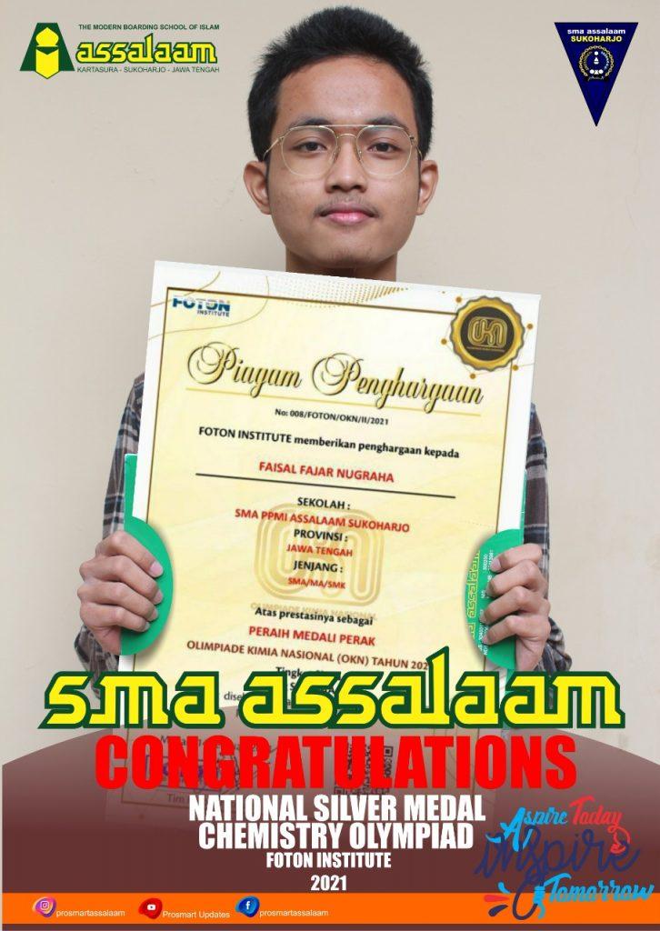 santri SMA Assalaam raih Medali