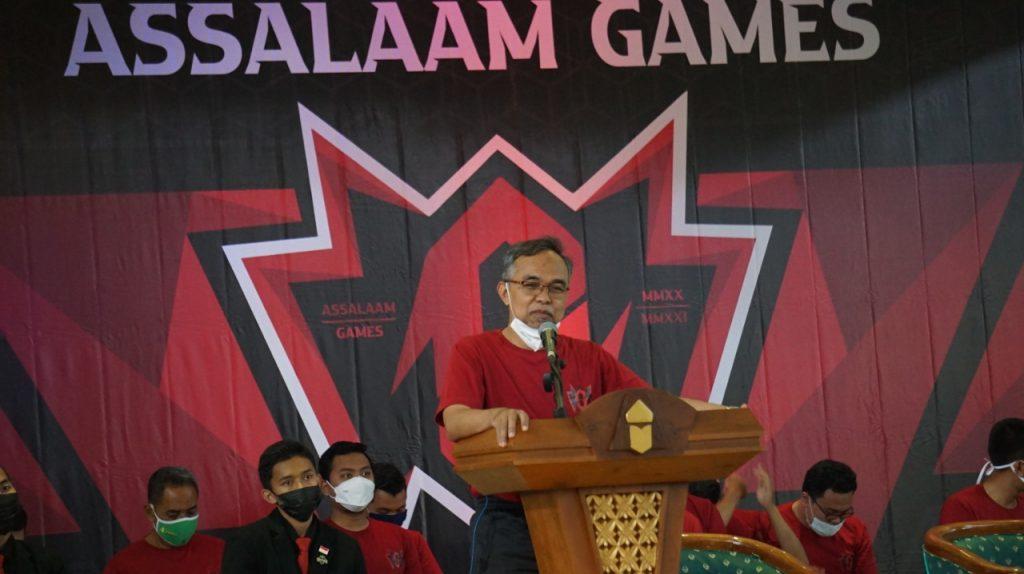 Pembukaan Assalaam Games 33, Santri Pesantren Assalaam Tunjukkan Penampilan Aktraktif