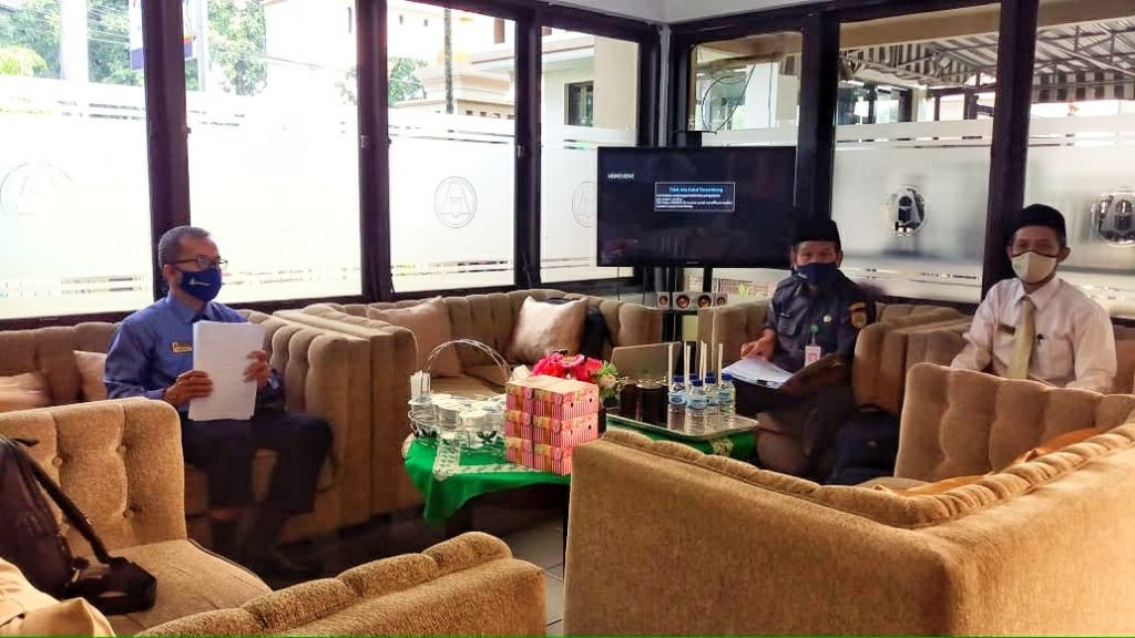 Kementrian Agama Sukoharjo Lakukan Verifikasi Ujian Madrasah Tsanawiyah Pondok Pesantren Assalaam