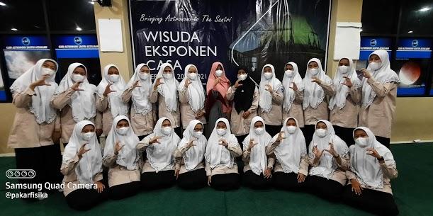 Wisuda Eksponen Club Astronomi Santri Assalaam Periode 2020/2021