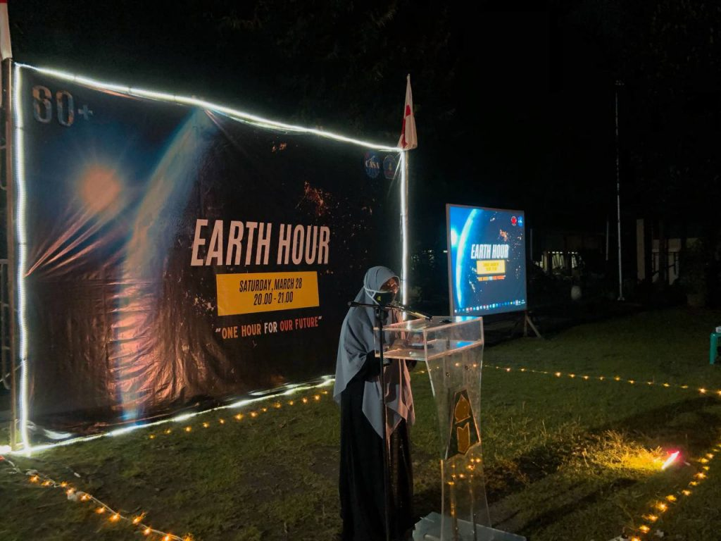 Club Astronomi Assalaam Mengadakan Earth Hour  2021