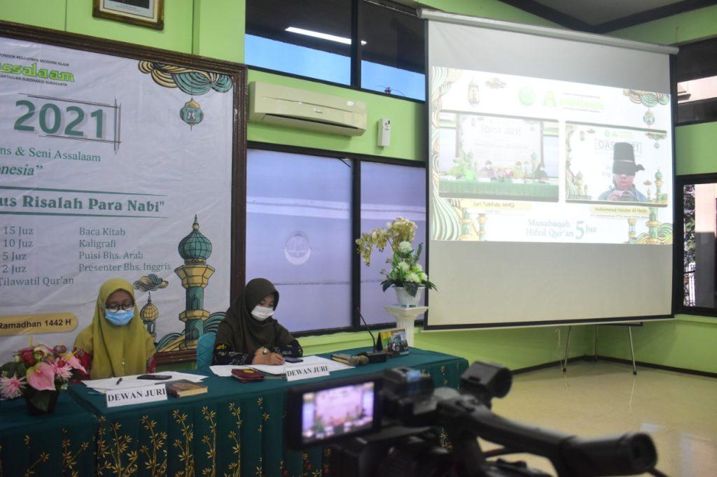 Olimpiade Al-Qur'an, Sains dan Seni Nasional dilaksanakan Pondok Pesantren Assalaam