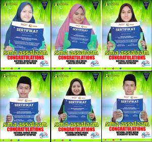 Santri SMA Assalaam Raih Emas, Perak dan Perunggu dalam ajang News Generation Olympiad