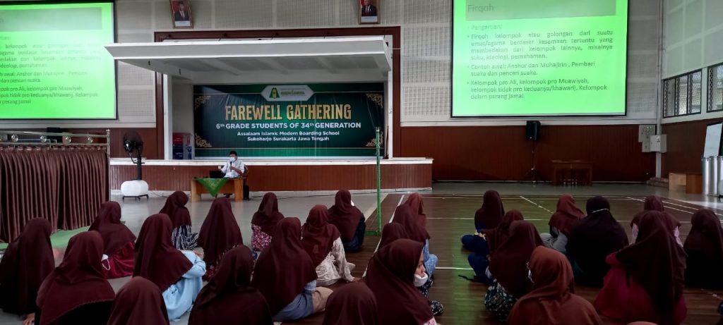 Siapkan Diri Jadi Alumni Pondok Pesantren Modern Islam Assalaam Jawa Tengah, Santri Ikuti Rangkaian Kegiatan Pra-Wisuda
