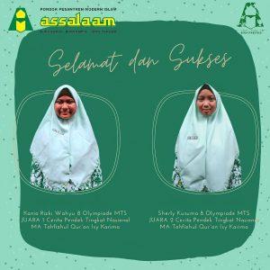 assalaam juara dalam ajang Islamic Festival of Arts and Literatures (I-Flare) 4