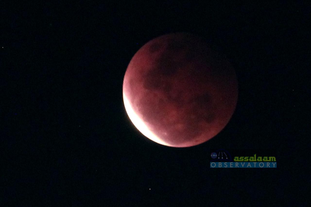 Menyaksikan Gerhana Bulan di Langit Solo Bersama Assalaam Observatorium