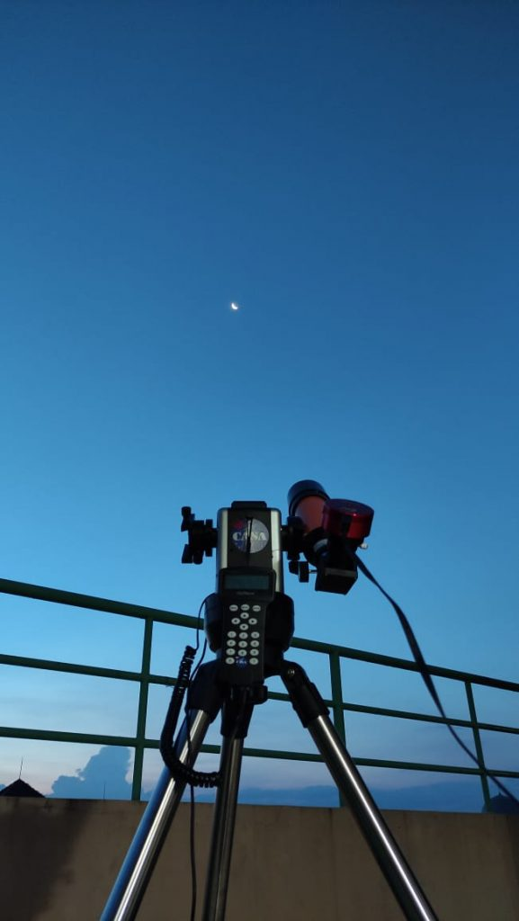 Club Astronomi Santri Assalaam Adakan Webinar Okultasi Bulan dan Planet Mars