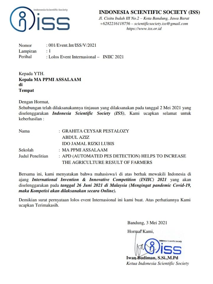 2 Tim MA Assalaam Wakili Indonesia di Lomba Inter Nasional di Malaysia
