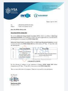 Penelitian Santri MA Assalaam Lolos Final INTONIC Global 2021 di Turki
