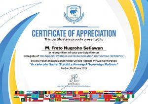 Wakili Indonesia dalam Asia Youth International Model Nation, Santri Assalaam jadi MC untuk 500 Peserta