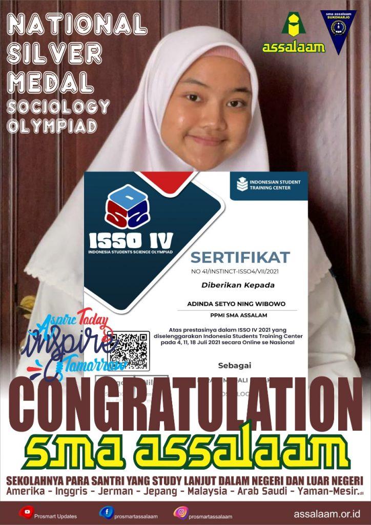 Assalaam Indonesia Student Sains Olympiad