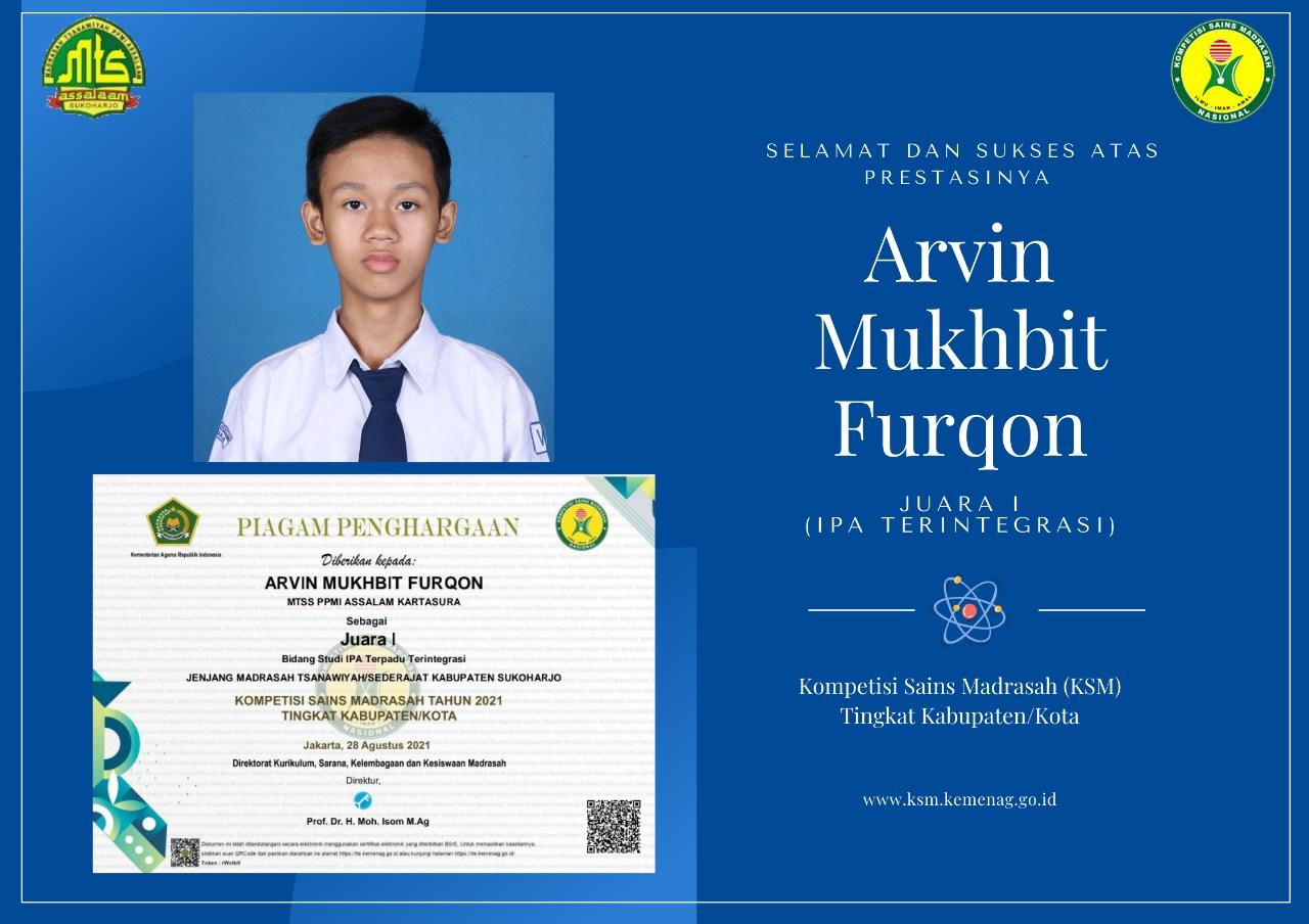 Santri Assalaam Juara Kompetisi Sains Nasional