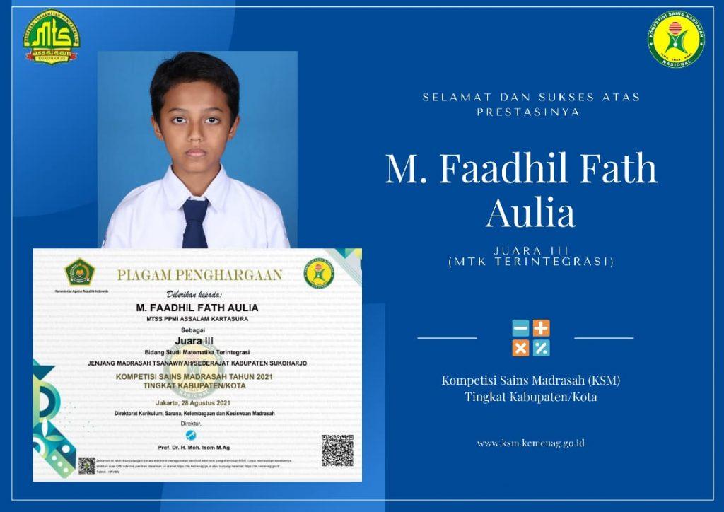 Juara Kompetisi Sains Madrasah
