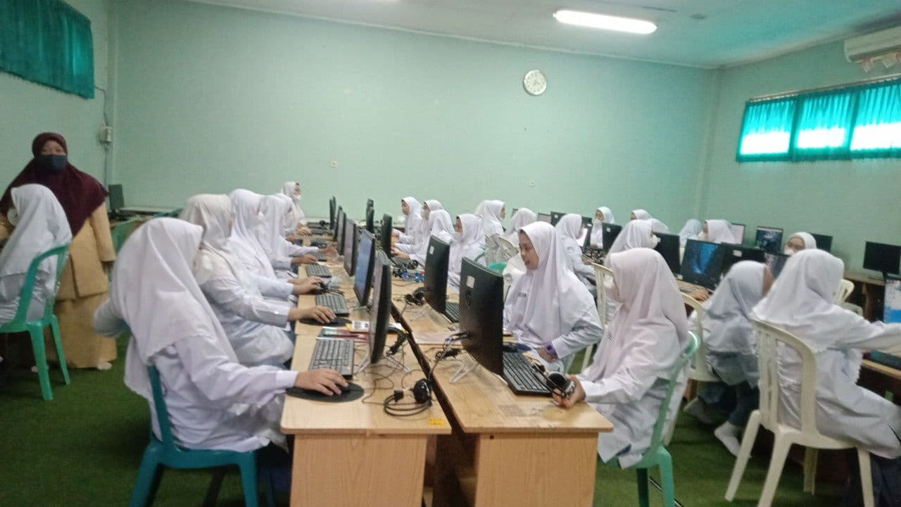 MA dan SMA Assalaam Selenggarakan ANBK 2021